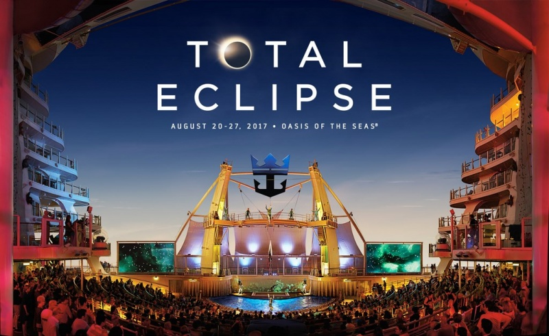 Royal Caribbean disponibiliza cruzeiro para ver o Eclipse Solar Total a bordo do Oasis of the Seas