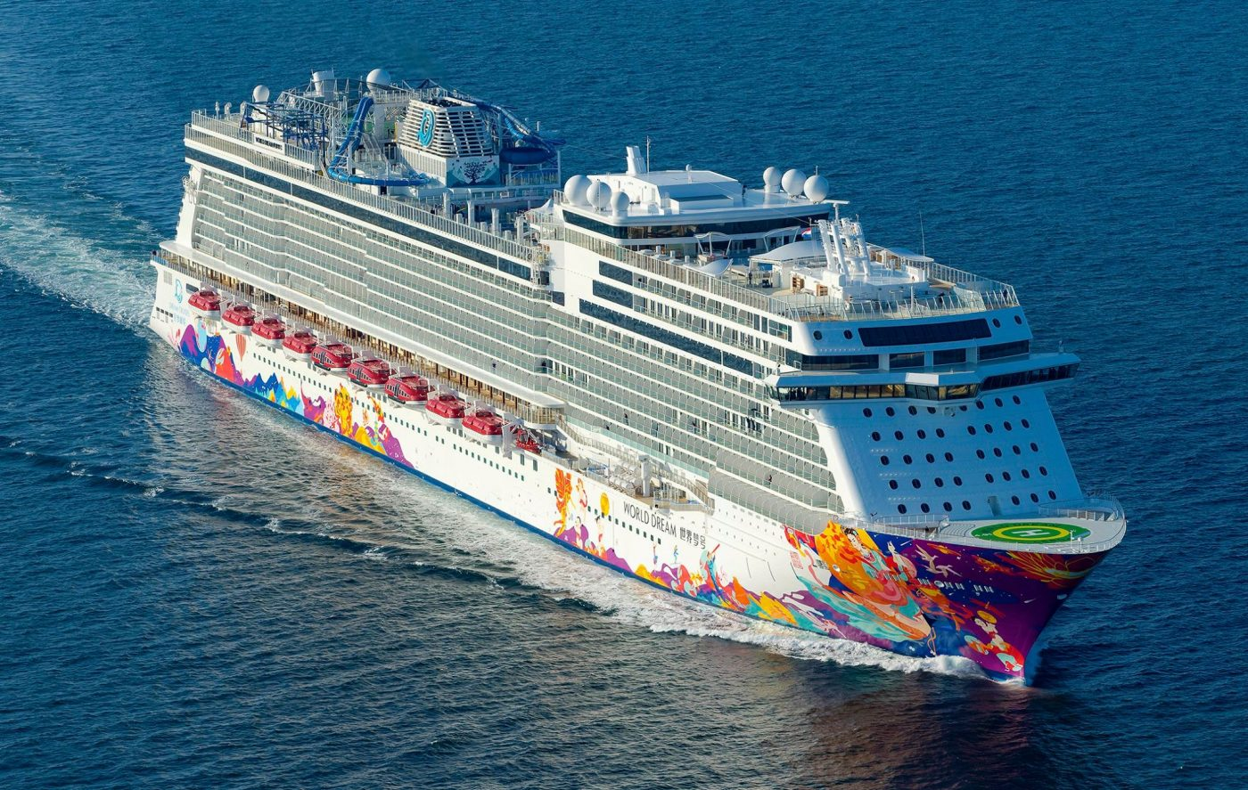 Meyer Werft entrega World Dream à Dream Cruises
